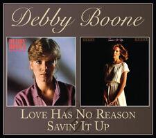Debby Boone - Love Has No Reason / Savin' It Up [New CD]