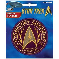 Star Trek Academy Iron On Patch