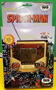 "Videogiochi Elettronics GIG "" SPIDER MAN "" a Batteria anni 91 Vintage TIGER"