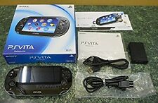 PlayStation PS Vita Wi-Fi Console Crystal Black PCH-1000 ZA01 Japan game F/S JP