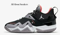 """Jordan Westbrook One Take """"Black/Cement """" Men's Trainers Limited Stock All Sizes"""