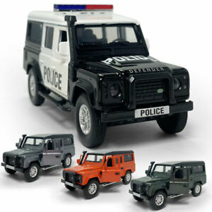 1:36 Land Rover Defender SUV Model Car Diecast Gift Toy Vehicle Kids Pull Back