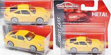 Majorette 212053050 Porsche 911 Carrera gelb Felgen chrom 1:59 Street Cars