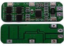 3S 6A Li-ion Lithium Battery 18650 Charger Protection Board 10.8V 11.1V 12.6v