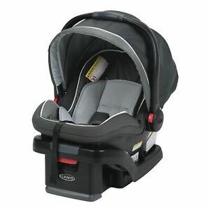 Graco SnugRide SnugLock 35 Infant Car Seat, Tenley Gray