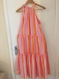 New Beautiful Club monaco 100% Silk Dress