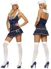 SEXY SAILOR COSTUME ADULT FANCY DRESS OUTFIT COSTUME