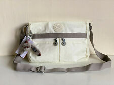 NEW! KIPLING ANGIE LACQUER PEARL CROSSBODY SHOULDER SLING BAG PURSE $89 SALE