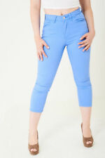M&S LADIES High Waisted CROPPED JEANS WOMENS SKINNY - 10 12 14 16 18 20 22 24