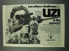 1983 Uzi Model B 9mm Semi-Automatic Carbine Ad