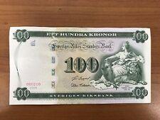 More details for swedish 100 kroner 2005 commemorative lion tumba bruk 250th unc money note