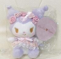 Sanrio LIZ LISA collaboration Bag Charm Plush Doll KUROMI Charm from Japan