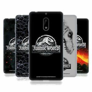 OFFICIAL JURASSIC WORLD FALLEN KINGDOM LOGO SOFT GEL CASE FOR NOKIA PHONES 1