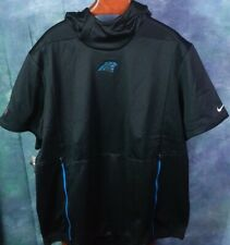 New listing CAROLINA PANTHERS NIKE MENS BLACK THERMA FIT S/S PULLOVER HOODIE 3XL 906845-010