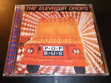 """New! THE ELEVATOR DROPS """"Pop Bus"""" (CD 1996) 11-Tracks ***SEALED*** w/hole punch"""