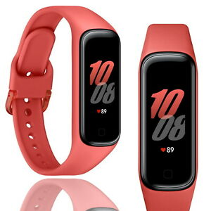 Samsung Galaxy Fit 2 Activity Tracker Sports Heart Rate monitor Scarlet Red