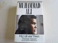 muhammad ali his life and times hardback signed by muhammad ali