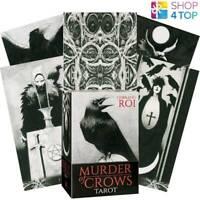 Murder Of Crows Tarot Cartes Pont By Corrado Roi Telling LO SCARABEO Neuf