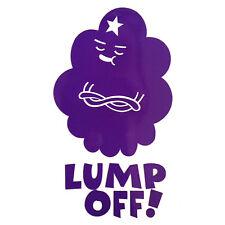 A tanto alzado Off! 9x5 Lumpy Space Princess Adventure Time-Laptop Vinilo calcomanía adhesivo