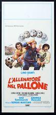 L'ALLENATORE NEL PALLONE Lino Banfi GIGI e ANDREA, S.MARTINO, LOCANDINA, SOCCER