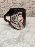 Flat Earth Pottery Santa Mug