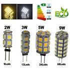 G4 2W/3W/5W/9W LED 5050/1210 SMD LED Coche Barco Lámpara Bombilla Blanco/Cálido