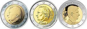 Ek // 2 euro Belgique : Pièce Nueve : Sélectionnez une Année :