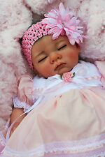 STUNNING REBORN BABY PAINTED HAIR LTD EDITION OF 1 SOFIA