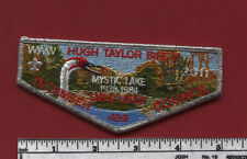 2015 Section SR-9 Conclave Tarhe Lodge 439 STAFF Flap - Camp HTB - Silver Mylar
