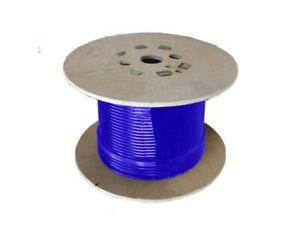 4.0mm 6x7 G1570 Blue Coated Galvanised Steel Wire Rope