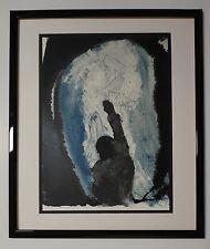 "'67 Salvador Dali Original Biblia Sacra #30 ""Ieremiæ prophetia .."" Signed - COA"