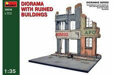 Miniart 36036 1/35 Diorama Ruined Building