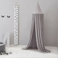 Bed Canopy Mosquito Net for Kids Baby Crib Princess Play Tent House Decor New