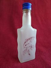 Glass Bottle Flask with Hunting Fishing Design Idea For the Gift Pike Trout 8W