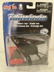 Maisto Tailwinds Lockheed F-117A Nighthawk Stealth Bomber