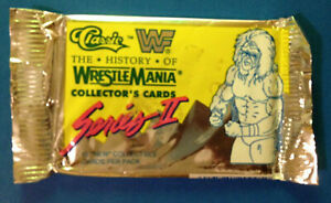1990 CLASSIC WWF WRESTLING Pack - 1990 Series 2 - Factory Sealed - Wrestlemania