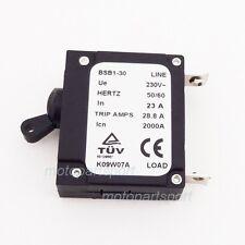230V  23 AMP 23A Generator Circuit Breaker 28.8 Trip Amps  BSB1-30 BAISHIBAO BSB