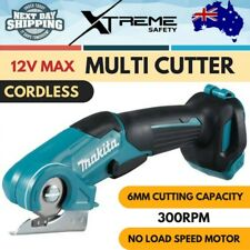 New Makita 12V MAX Cordless Multi Cutter Skin Only Professional Light Tool
