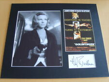 Honor Blackman James Bond Genuine signed authentic autograph - UACC / AFTAL.