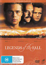 LEGENDS OF THE FALL Brad Pitt / Anthony Hopkins / Aidan Quinn DVD R4