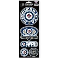 Winnipeg Jets Large 5 Pack Prismatic Stickers [NEW] NHL Car Sticker CDG
