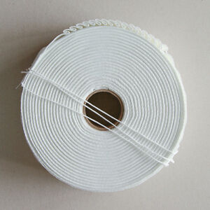 Pencil Pleat Curtain Tape - Woven Pocket  3 inch - 50m