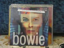 DAVID BOWIE - best OF - space oddity - fame - let's dance - cardsleave SIGILLATO