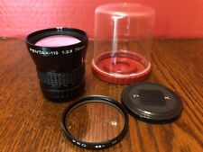 Pentax-110 70mm 1:2.8 Prime Lens for Auto 110, Clean Glass