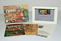 Donkey Kong Country SNES Complete CIB w/ Shrinkwrap AMAZING CONDITION LOOK!!