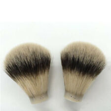 hot 1 Pc Silver Tip Finest Badger Hair Men Shaving Brush Head Knot Beard Head