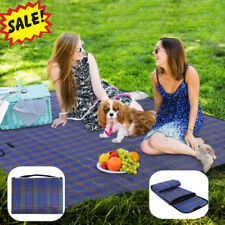 Large Picnic Blanket Family Waterproof Camping Rug Folding Travel Beach Mat 1.8m