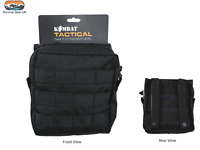 MEDIUM ARMY KOMBAT MOLLE UTILITY POUCH BLACK MILITARY AIRSOFT PAINTBALL