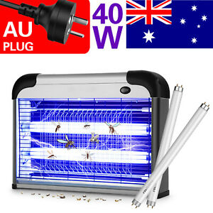 40W Electric UV Mosquito Fly Insect Pest Killer Bug Zapper Trap Lamp Inoutdoor