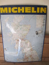 Michelin tyres map sign. Goodyear. Dunlop.vintage sign.tyre sign